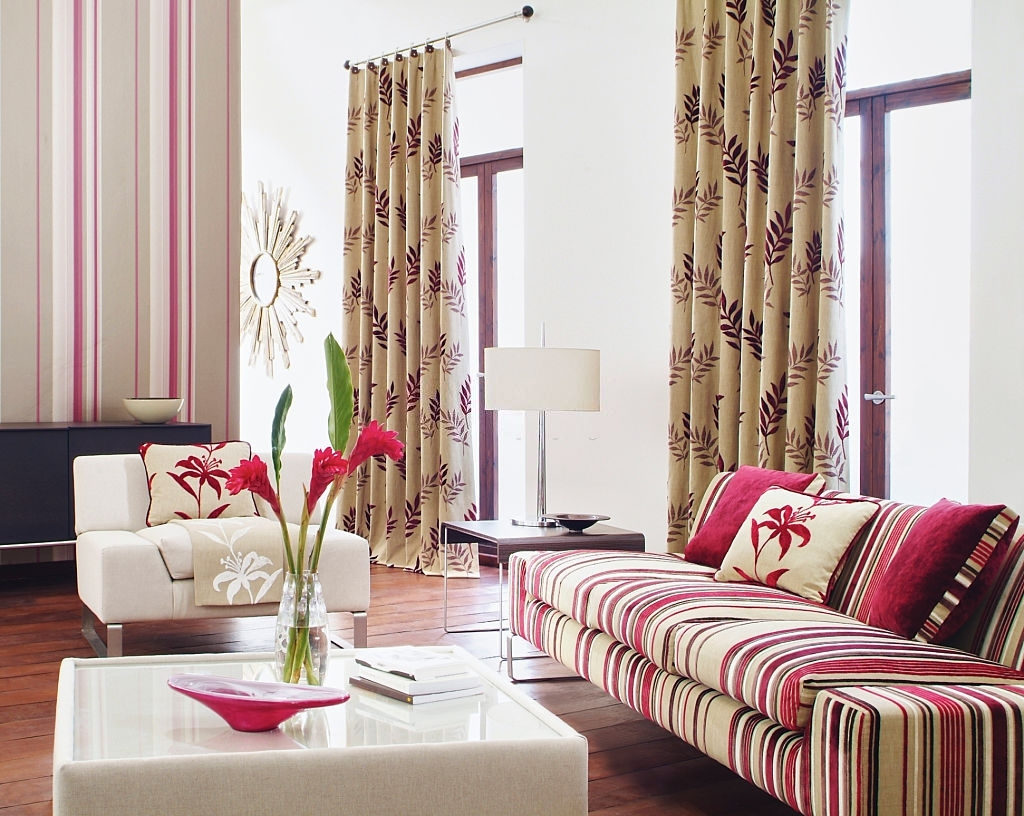 Luxury Patterned Curtains Fabric dubai