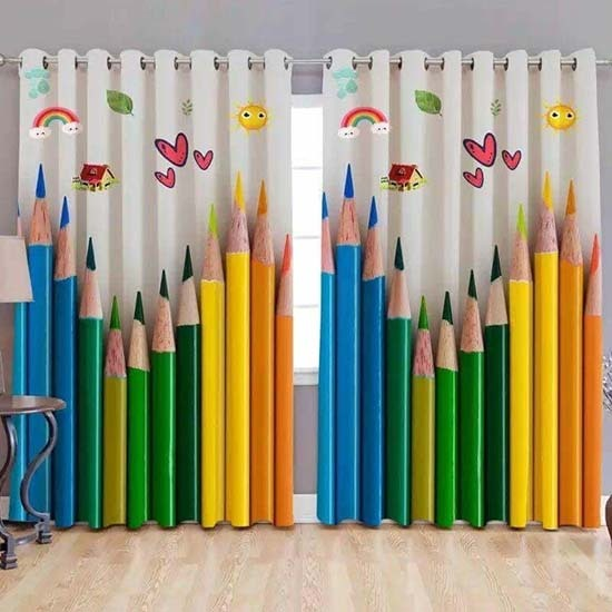 Pretty Kids Room Curtains Dubai