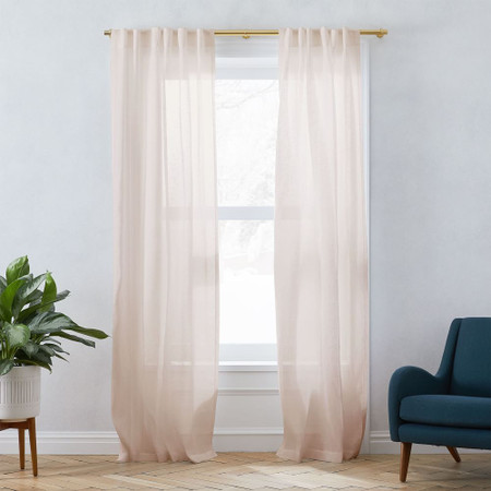 100% Pure Fabric Linen Curtains Dubai