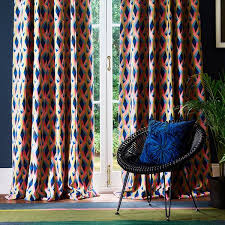 Patterned Curtains Fabric dubai